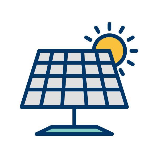 Solar Panel Vector Icon