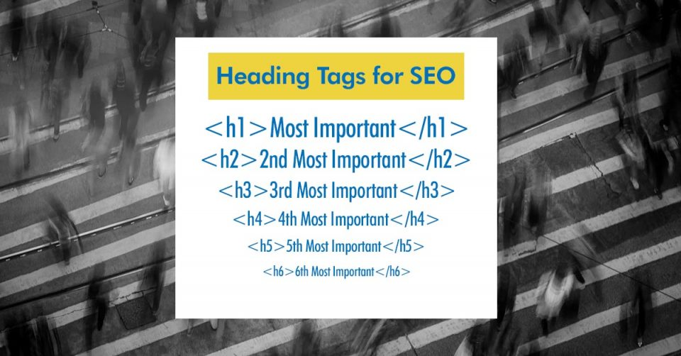 How to correctly use heading tags on your website 6