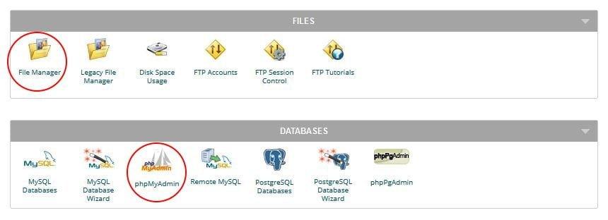 file-manager-phpMyAdmin